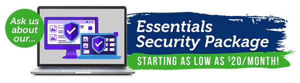 Essentials Security Package Banner